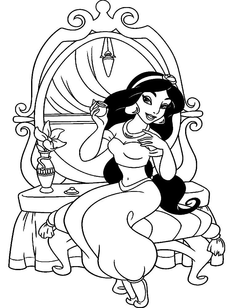 Раскраски принцессы напечатать