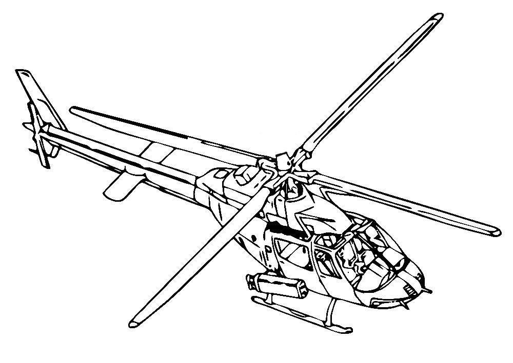 Вертолеты раскраски для мальчиков