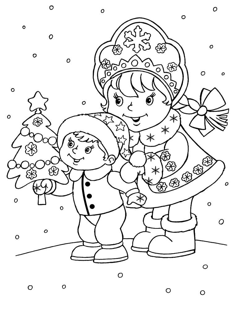 Рисунки на новый год своими руками картинки
