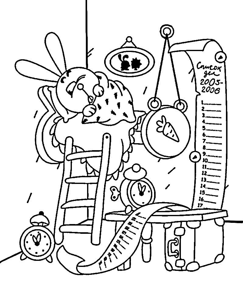 Полезные и интересные раскраски для детей Смешарики Крош