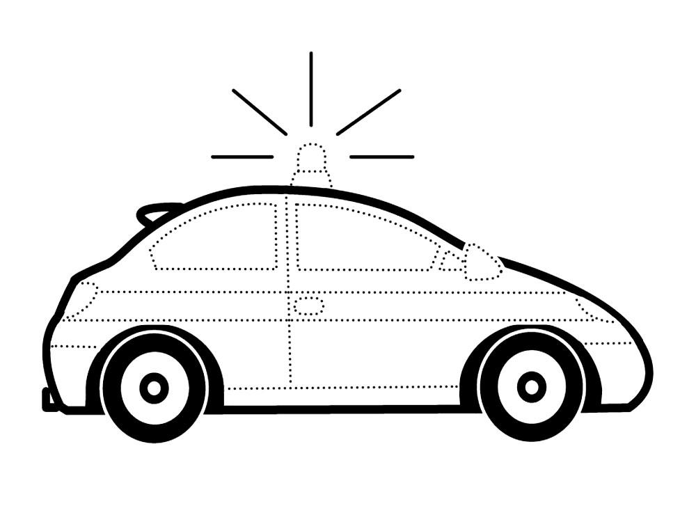 нарисовать по точкам и раскрасить машины очень просто с