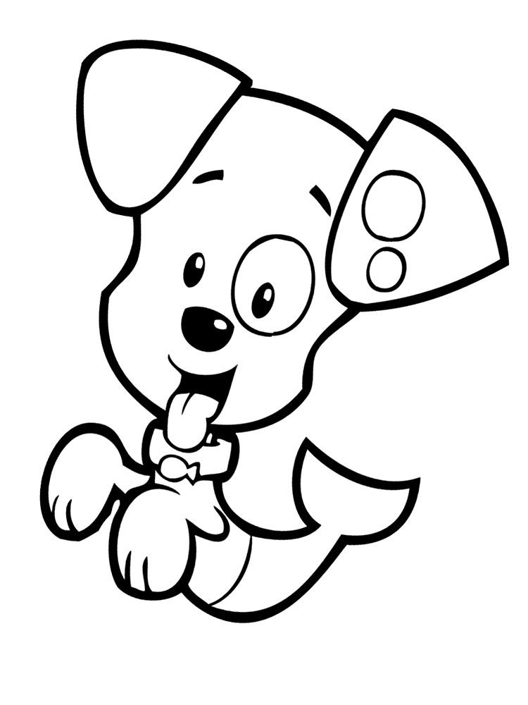 Онлайн раскраски с гуппи и пузырьками для мальчиков и девочек