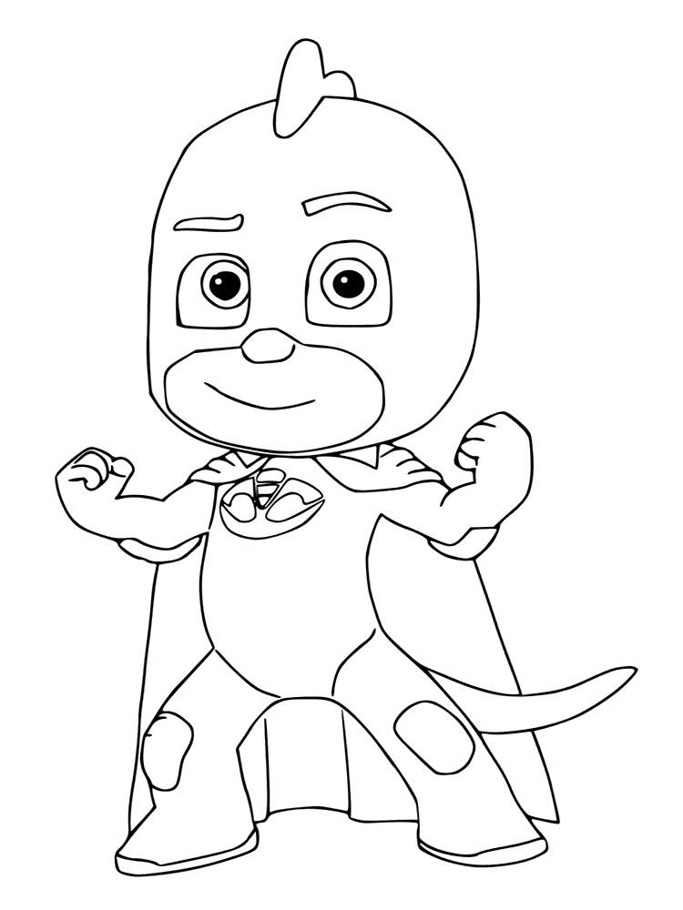 Pyjamahelden Kleurplaat PJ Masks - Pyjamahelden Kostenlose ...