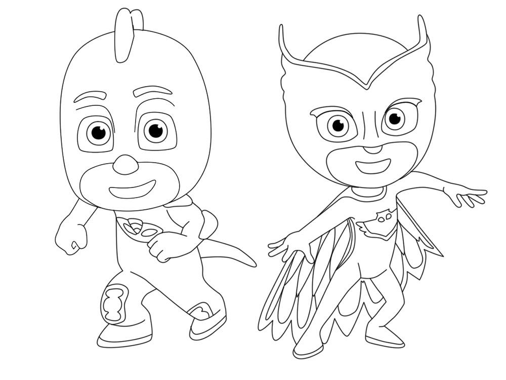 Онлайн раскраски с Героями в масках для мальчиков и девочек