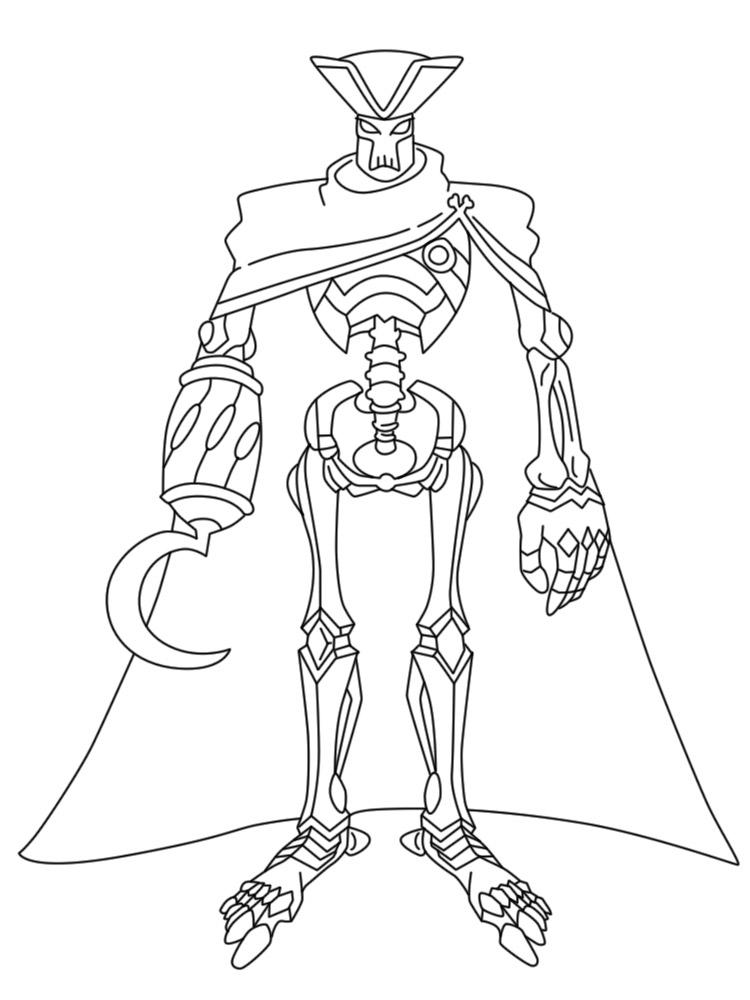 Онлайн раскраски с Заком Штормом: супер пиратом - отличная ...
